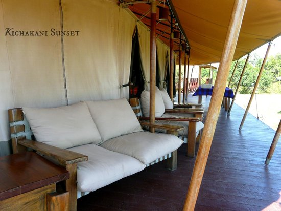 Loyk Mara Luxury Camp: Verandah