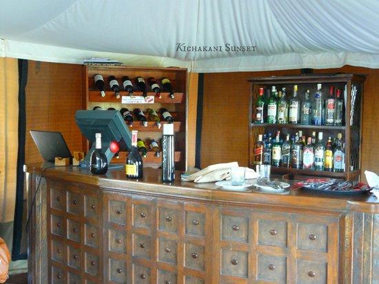 Loyk Mara Luxury Camp: The bar