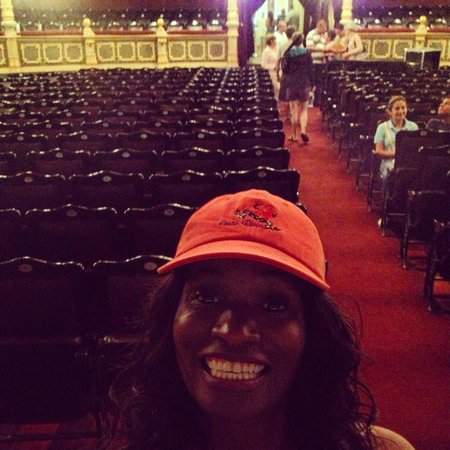 Teatro Nacional Costa Rica: San José  ... Inside the National Theater.
