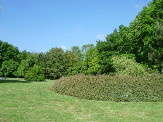 Domaine de Barive : Le jardin