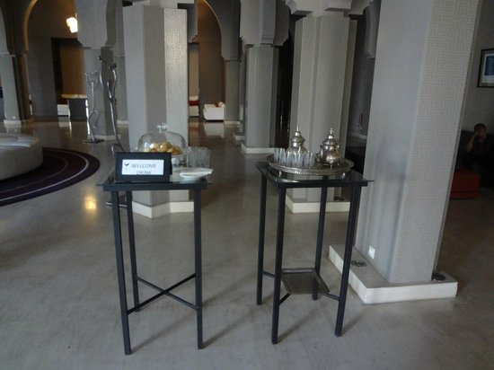 Pullman Marrakech Palmeraie Resort and Spa : Mint Tea - Welcome Drink