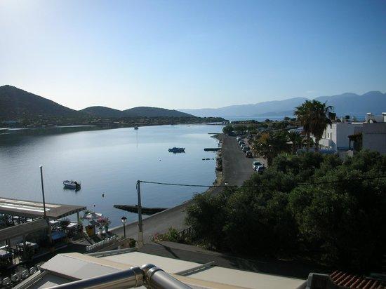 Akti Olous Hotel : View from bedroom balcony