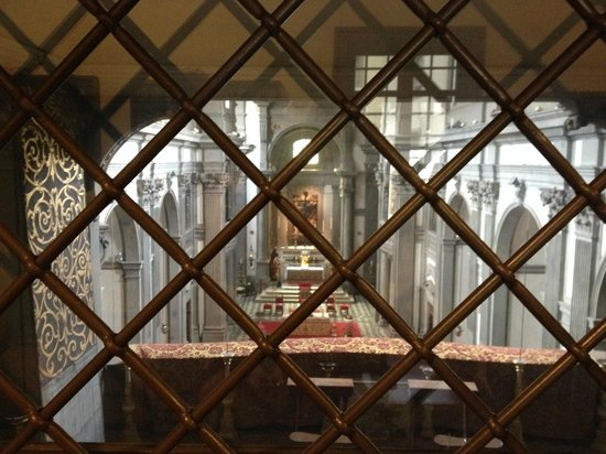 Galerie des Offices : Medici Chapel Uffizi Corridor