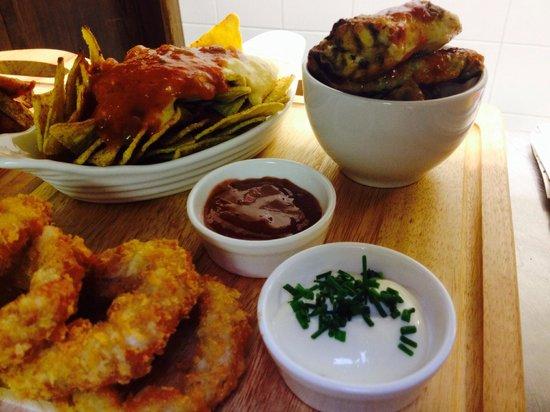 Flanagans Pub : New tapas menu