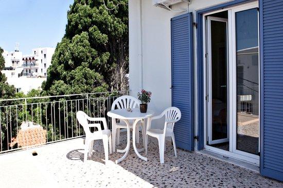 Hotel Eleana: Αυτόνομη Βεράντα Δωματίου