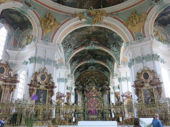 Fürstabtei St. Gallen: ภายในมหาวิหาร St.Gallen