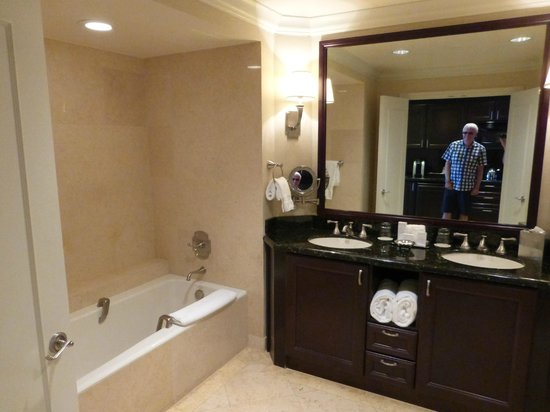 The Atlantic Hotel & Spa: His and Hers Bathroom