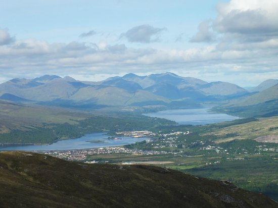 Nevis Range Mountain Experience: view from the top