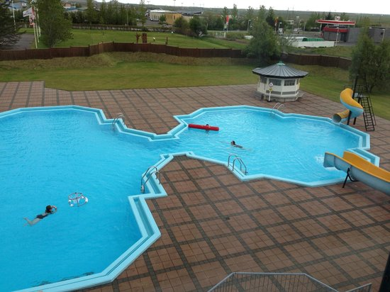 Hotel Ork: The thermally heated swimming pool