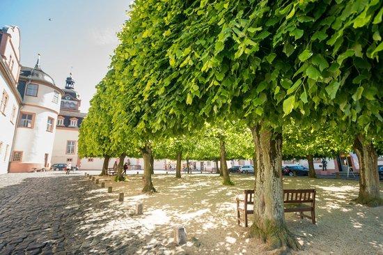 Schlosshotel Weilburg: Übergang zum Schloss Weilburg