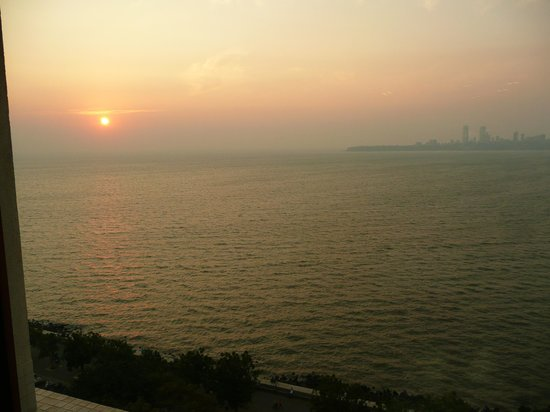 Trident, Nariman Point : Sublime coucher de soleil !