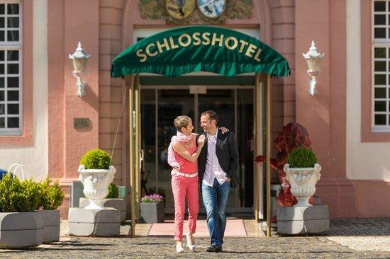 Schlosshotel Weilburg: Eingang Schlosshotel