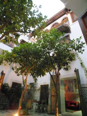Riad Yamina : courtyard