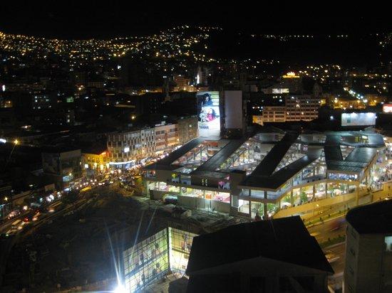 La Bella Vista : View down onto the market