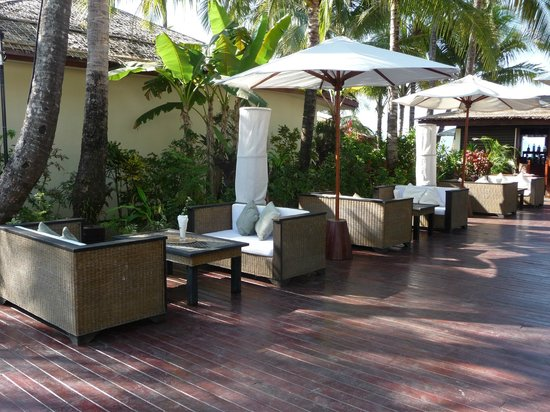 Bayview - The Beach Resort: Seating areas of the hotel/resort