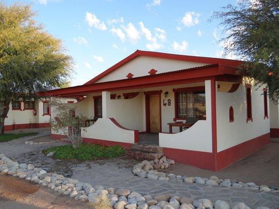 Namib Desert Lodge : Unsere Chalet-Hälfte