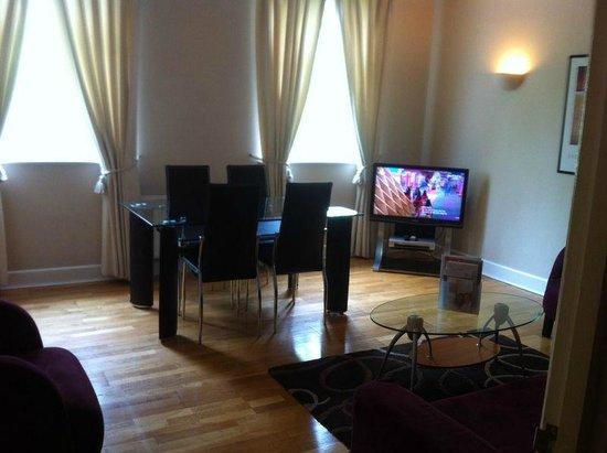Citadines St Mark's-Islington London : Living/Dining Room