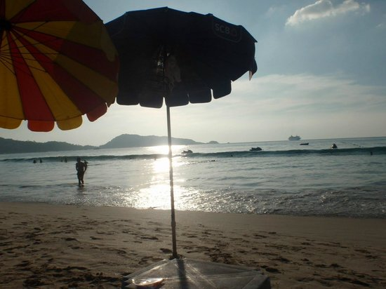 Patong Beach: Almost sunset