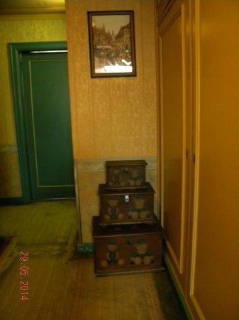 vista da entrada do quarto