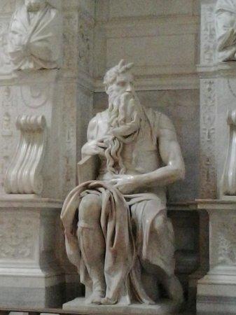 San Pietro in Vincoli: Mosè