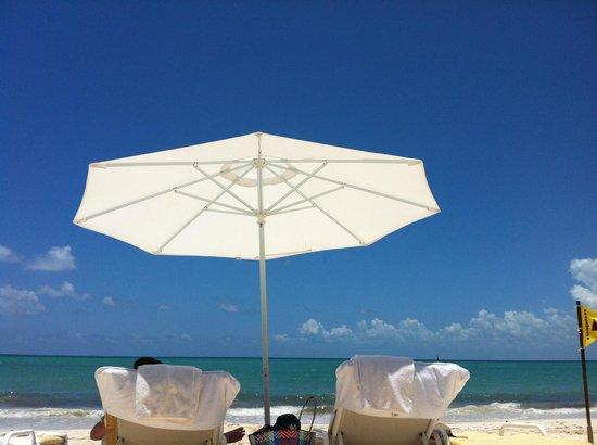 Fairmont Mayakoba: Beach front