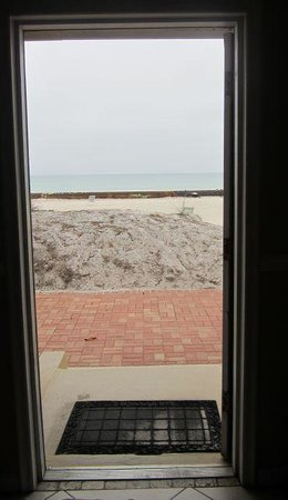 Anna Maria Island Inn: view from the front door!
