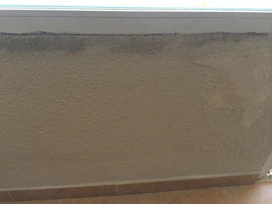 Rosamar & Spa : mur de la fenetre de la chambre !!!!!