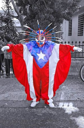 Loiza Aldea: Vegigantes Fiestas Tradicionales  Santiago Apostol