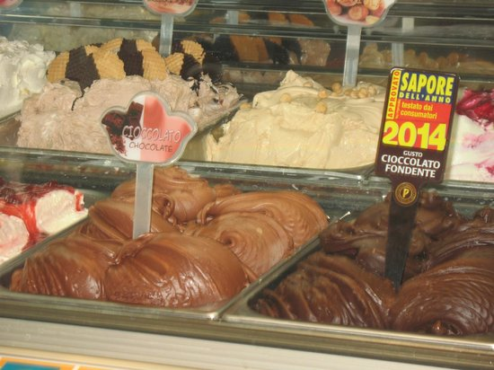 Gelato Fantasy : cioccolato fondente 2014