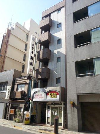 Hotel Yanagibashi: fachada del hotel