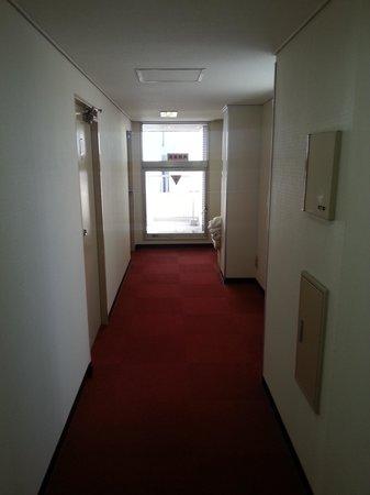 Hotel Yanagibashi: pasillo a la habitacion
