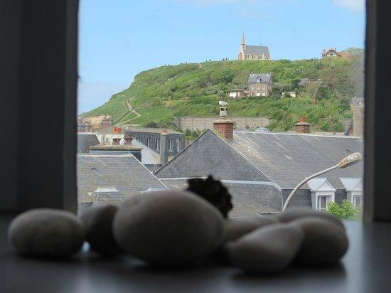 Hotel d'Angleterre Etretat: Вид из окна