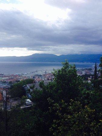 Kastel: View