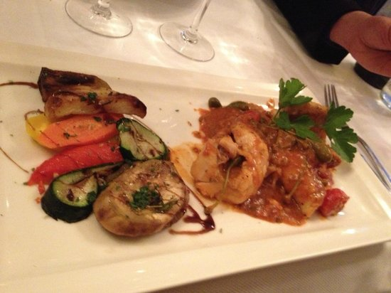Au Club des Siciliens : My dish from the suggestion board...nice but not as good as it looks