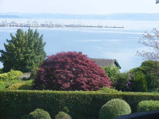 Rosslea Hall Country House Hotel: Sea viw
