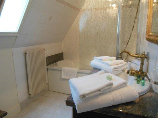 Chateau de la Fleunie: Salle de bains