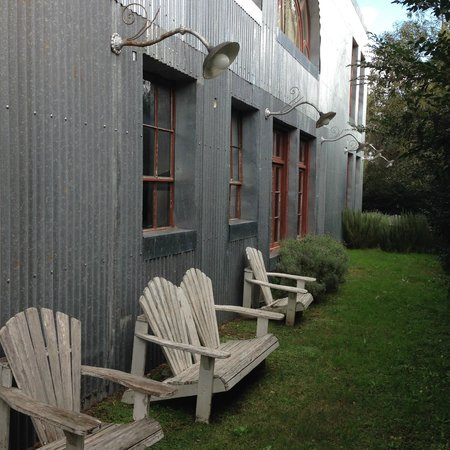 Casa Zinc: recanto da leitura