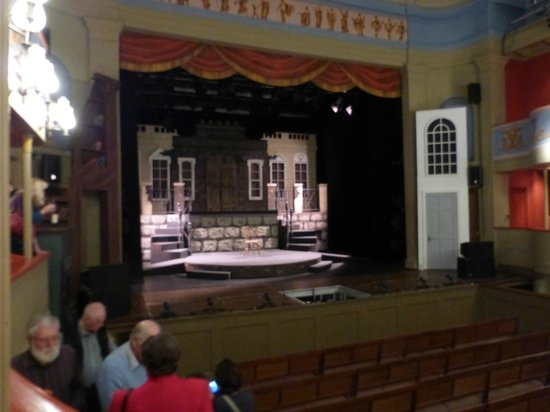 Theatre Royal: Closer view of the stage
