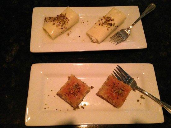 Phoenician Taverna : Baklava Crepes deserts