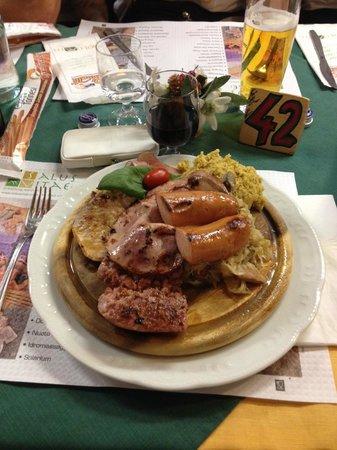 Ristorante Pizzeria Dolomiti: piatto unico