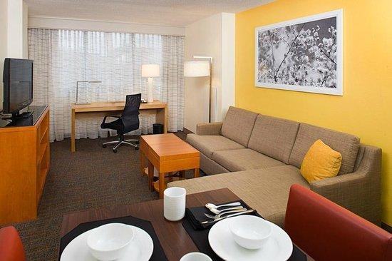 Residence Inn Washington, DC/Foggy Bottom : Guest living room