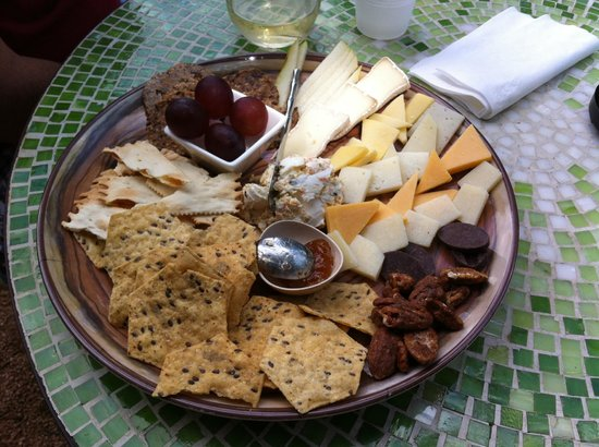 House Wine Artisan Cheese Plate & Artisan Cheese Plate - Picture of House Wine Austin - TripAdvisor