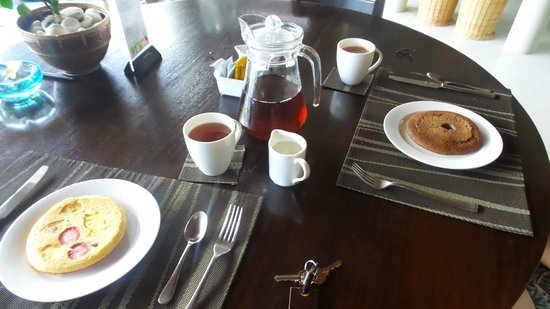 The Kunja Villas & Spa: Afternoon tea