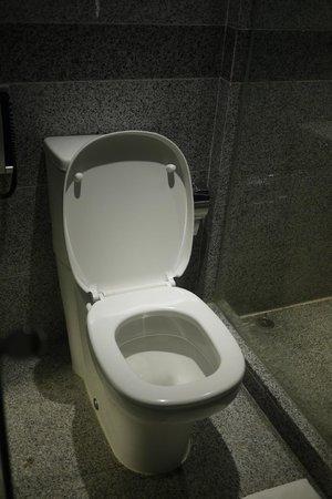 toilet picture of hotel madera hong kong hong kong tripadvisor. Black Bedroom Furniture Sets. Home Design Ideas
