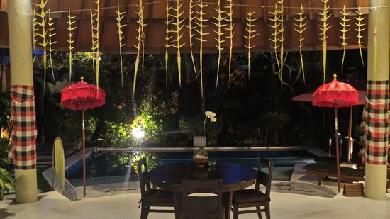The Kunja Villas & Spa : In villa BBQ decorations