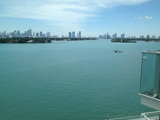 Mondrian South Beach Hotel: My view...lovely!