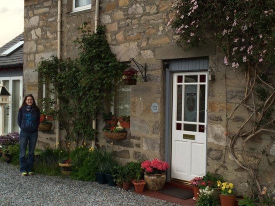 Atholl Villa: The side garden.
