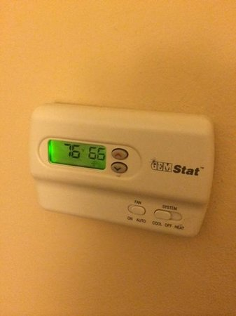 The Westin Key West Resort & Marina: AC was set low, but temp went up