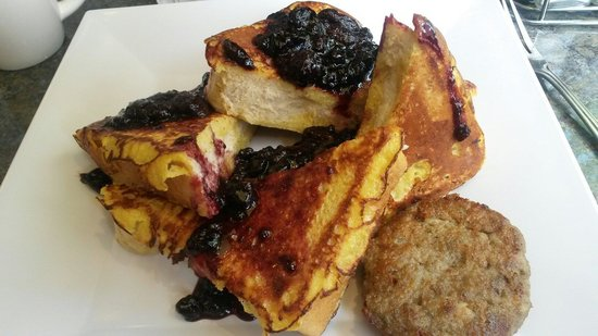 Newton's Paradise Cafe: Iowa toast