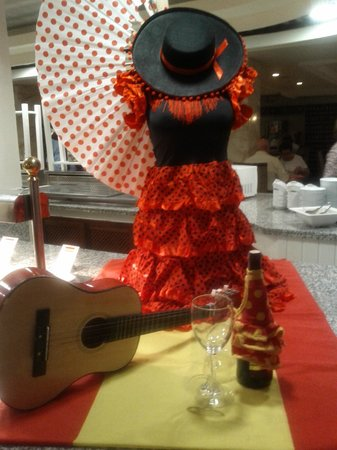 H10 Conquistador : Soirée thème Fiesta espagnole....
